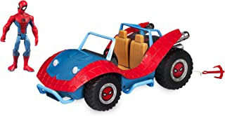Marvel Spider-Man with Spider-Mobile Playset Toybox