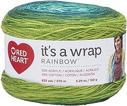 RED HEART Wrap Rainbow, Seaglass Yarn