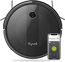 KYVOL Aspirateur Robot avec Aspiration Puissante, Autonomie de 150min, Carpet Boost, Barrières Virtuelles, Programmation, ...
