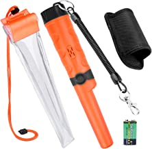 Kuman Pin pointer Water Resistant Metal Detectors with Holster Treasure Hunting..