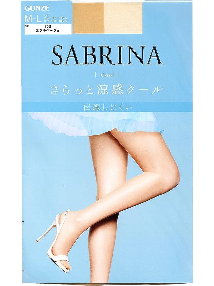添加剤お茶識別するSABRINA(サブリナ) ストッキング クール SB470L エクルベージュ L-LL