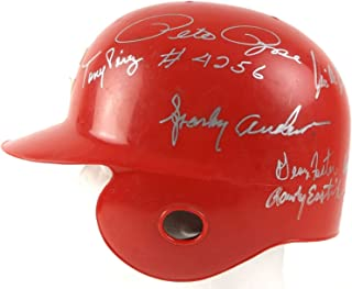 Sparky Anderson Big Red Machine Signed Game Used Cincinnati Reds Helmet PSA DNA