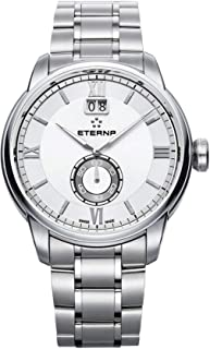 Eterna adventic Mens Analog Swiss quartz Watch with Stainless Steel bracelet 2971.41.66.1704