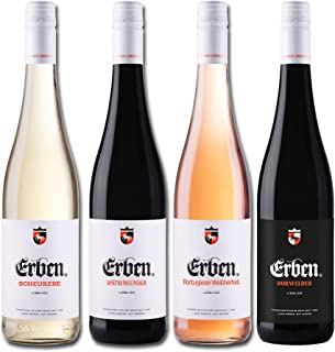 Liebliches Erben Wein Quartett Deutschland Probierpaket 4 x 0.75 l