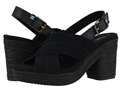 TOMS Ibiza (Black) Women