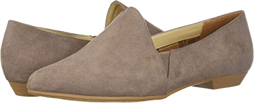 Pebble Taupe Super Suede