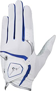 MIZUNO(ミズノ) ゴルフグローブ クールグリップ 2019年モデル メンズ 左手 合成皮革+発泡樹脂プリント加工×合成皮革+ニット(涼感素材アイスタッチ) ホワイト 21~26cm 5MJML902