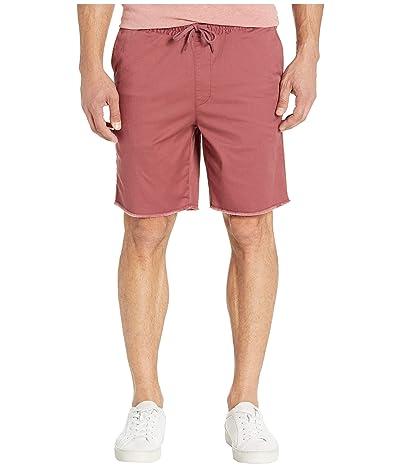 RVCA Weekend Elastic Shorts 19 (Dusty Plum) Men