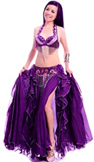 Women's Belly Dance Costume Nightclub Stage Performance Dancing Skirt Dress
