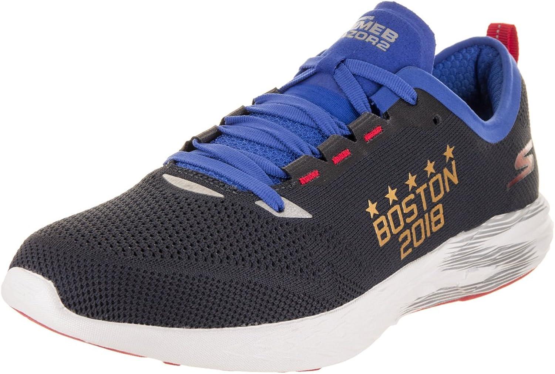 Skechers Men's GO MEB Razor 2 - Boston Marathon 2018 Navy Training shoes 8.5 Men US