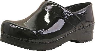 Sanita Professionell patentstängd togg | Original handgjord flexibel lädersko för kvinnor | maximal stabilitet | anatomisk...