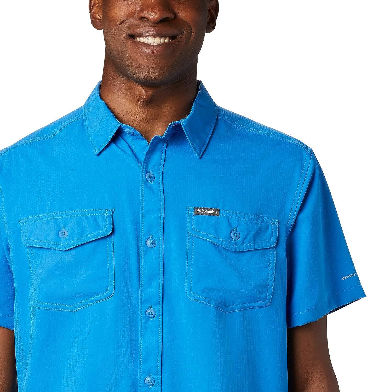 Columbia Mens Utilizer II Solid Short Sleeve Shirt