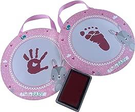 Betco Set Mis Primeras Huellas con Tinta Especial para Bebé, color Rosa Claro