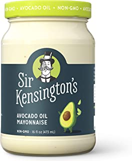 Sir Kensington's Mayonnaise Avocado Oil Paleo Certified, Keto Certified, Gluten Free, Certified Humane Free Range Eggs 16 Fl Oz (Pack of 1)
