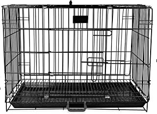 Pet Dream Cage with Removable Tray for Dog 42 Inch