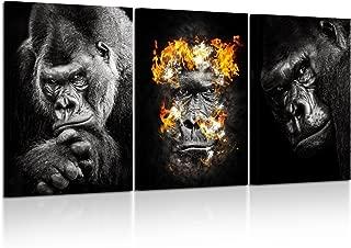 Best gorilla wall art Reviews