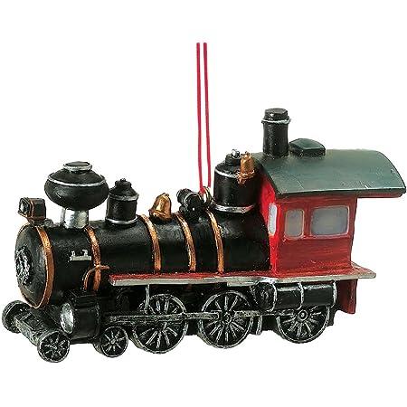 Old World Christmas Train Glass Tree Ornament 46080 FREE BOX Locomotive New