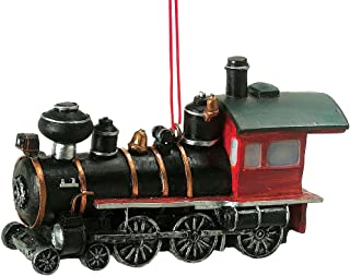 Locomotive Train Resin Hanging Ornament