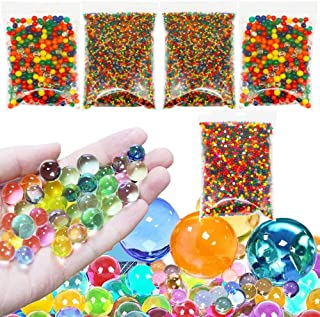Water Beads Non Toxic - 400 Jumbo, 3000 Medium and 20000 Small Water Gel Beads Kits for Kids Sensory Toys, Home Decor, Pin...