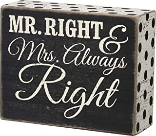 Best mr right and mrs always right signs Reviews