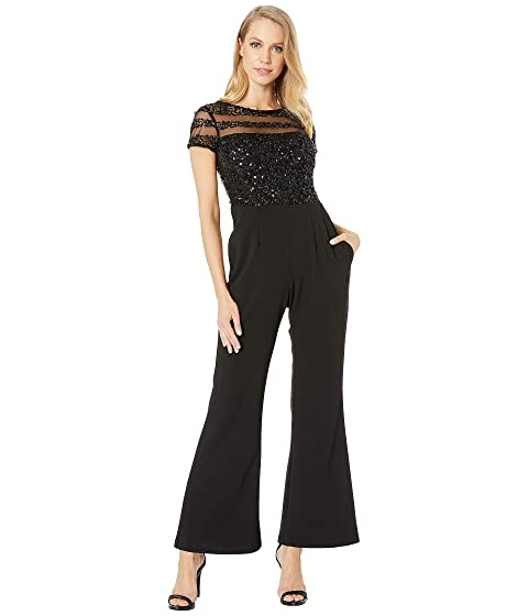e44c1c56e02f9 Adrianna Papell Petite Crepe Jumpsuit at Zappos.com