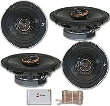 4 x Infinity REF-6522ix 6.5-inch 2-Way Car Audio Coaxial Speakers 6-1/2