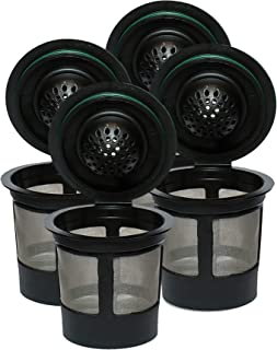 Reusable K Cups For Keurig 2.0 & 1.0 Brewers Universal Fit For Easy To Use Refillable..