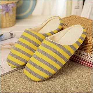 brown78 Rayas PSOFT Hombres Calientes de Interior Deslizadores de los Zapatos de Las Mujeres Soft House Inferior Pavimento Inicio Zapatos