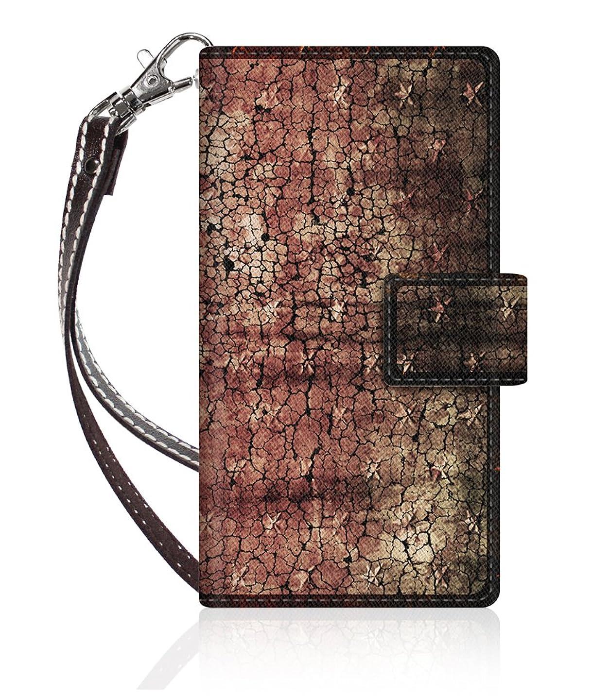 統合プレフィックス足枷Evis Club 【手帳型】 apple iPod touch 第6世代 iPod-touch6 スリムケース ステッチモデル [ アメリカン スター 2258 ] ハンド ストラップ付き - ブラウン