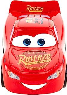 Mattel Disney Cars-Vehículo Turbocarreras Rayo Mcqueen, Coches de Juguetes niños +3 años FYX40