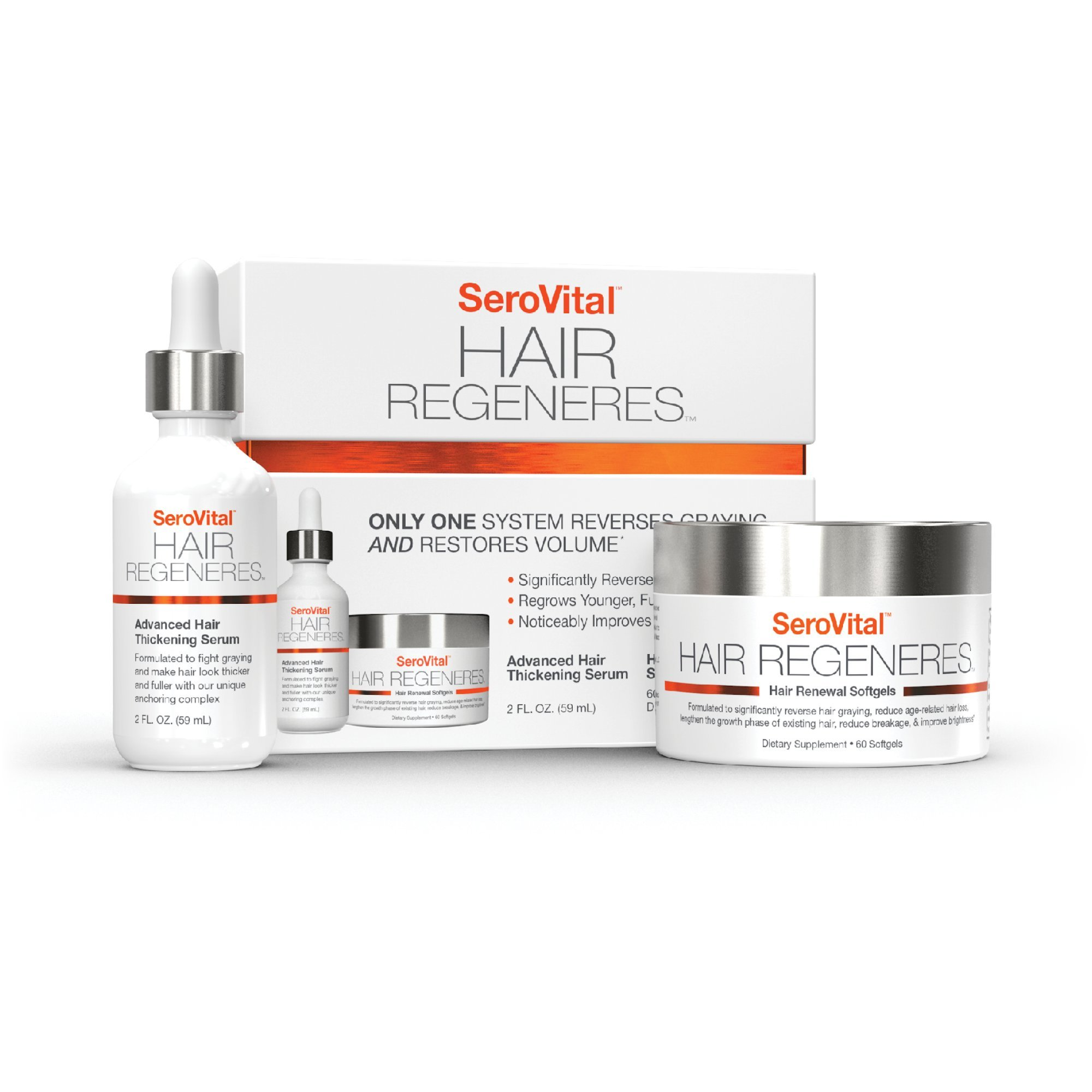 Serovital Hair Regeneres Revolutionary Significantly