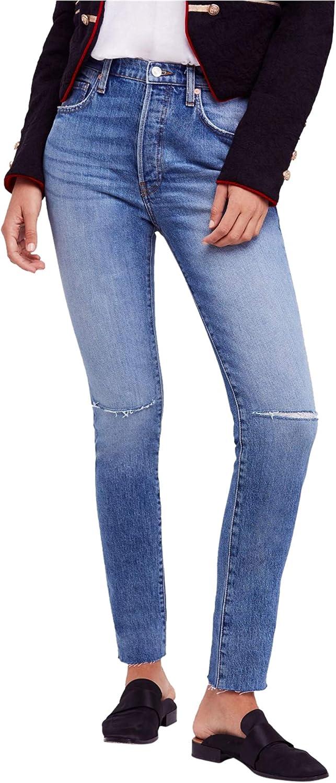Free People Womens Stella Skinny Fit Jeans