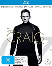 Daniel Craig 4-PACK Spectre Included (Blu-ray)