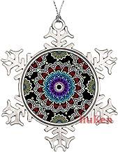 Seamless Color Floral Mandala Pattern Christmas Ornaments,Christmas Tree Decoration Ornaments,Christmas Keepsake 2020 Xmas...