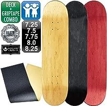 レベルロイヤル(REVEL ROYAL) スケボー スケートボード エリート ブランク デッキ & グリップテープ デッキテープ キッズ 子供用 有り