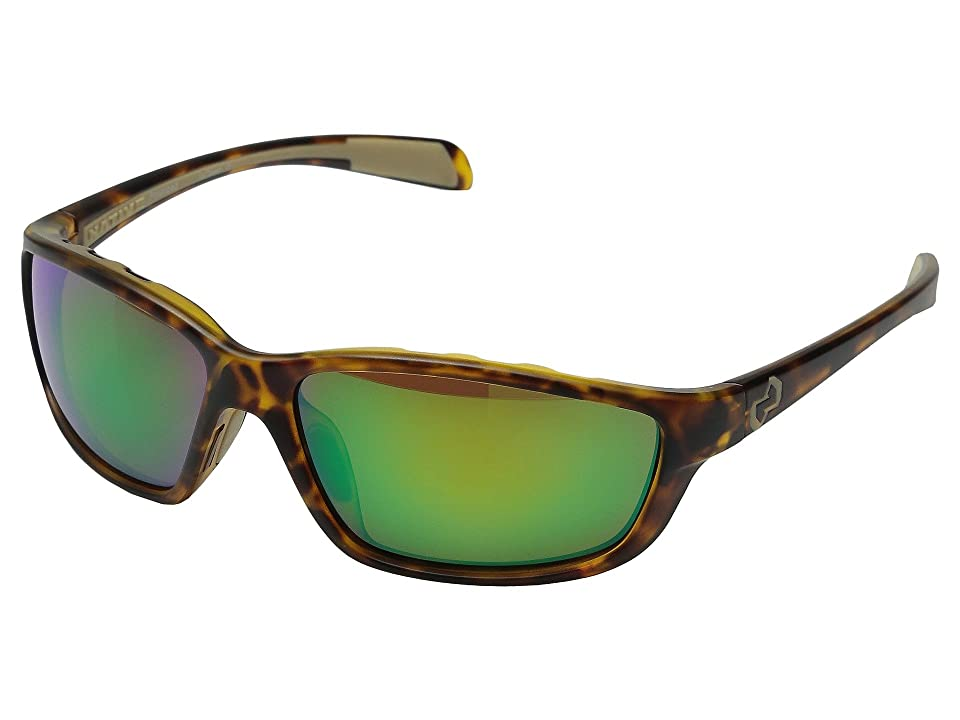 Native Eyewear Kodiak (Desert Tort/Green Reflex) Athletic Performance Sport Sunglasses