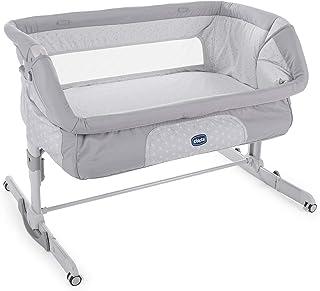 comprar comparacion Chicco Next2Me Dream - Cuna de colecho con anclaje a cama, balancín y 11 alturas, Gris (Luna)