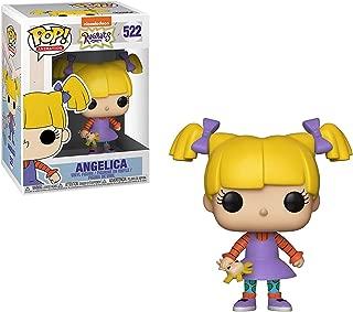 Funko Angelica: Nickelodeon Rugrats x POP! Animation Vinyl Figure & 1 POP! Compatible PET Plastic Graphical Protector Bundle [#522 / 35574 - B]