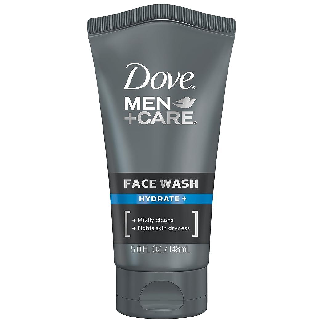 一人でアシスト抜粋Dove Men+Care フェイスウォッシュ 保湿+ 147.9ml (5オンス) 147.9ml (5オンス)