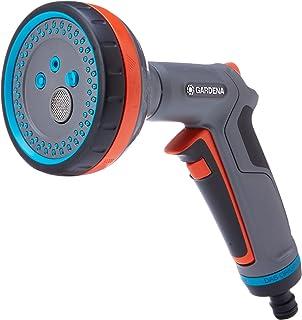 GARDENA Comfort Multi Sprayer: Garden sprayer for watering and cleaning, five spray patterns, lock, infinitely adjustable ...