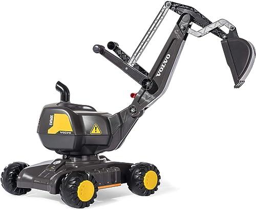 salida Rolly Toys Licensed Volvo Mobile 360 Degree Excavator Excavator Excavator negro  n ° 1 en línea