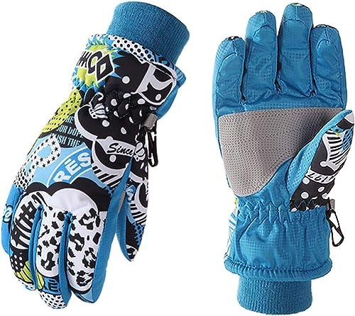 high quality OPTIMISTIC online Kids Ski Gloves Winter Warm Outdoor Riding Thickening Gloves Ski Gloves for Children online sale Waterproof and Windproof online