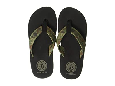Volcom Kids Daycation (Little Kid/Big Kid) (Dark Camo) Kids Shoes