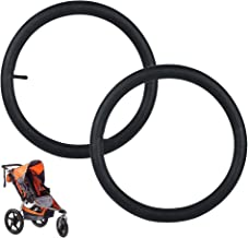 16'' x 1.5/1.75/1.95/2.125 Rear Wheel Inner Tube (2-Pack) Compatible with Bob Revolution (SE/Flex/Pro/Stroller Strides/Ironman), Tube Replacement for Baby Trend Expedition Jogger Strollers