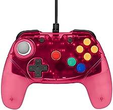 Retro Fighters Brawler64 Next Gen N64 Controller Game Pad - Nintendo 64 – Red