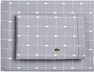 Lacoste Slice Sheet Set, California King, Sleet