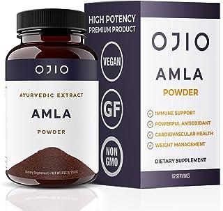 Ojio Amla Powder| Super Food | Rich in Natural Vitamin C| Promotes Immunity & Healthy Digestion | Non-Irradiated Unrefined...