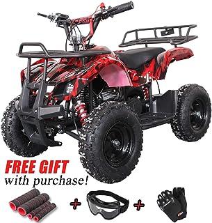 X-Pro Kids ATV 4 Wheelers 40cc ATV Quads Kids Quad with Gloves, Goggle and Handgrip