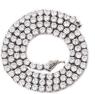 Best long diamond tennis necklace Reviews