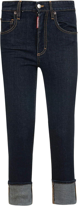 Dsquared2 Women's S75LB0107S30595470 bluee Cotton Jeans